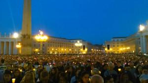 Plaça de sant Pere del Vaticà