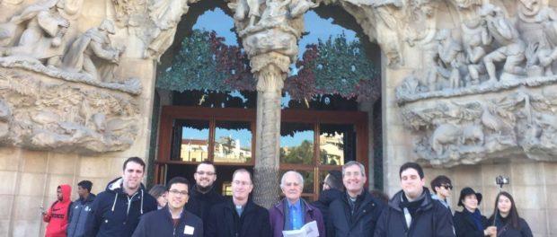 Visita a la Sagrada Família