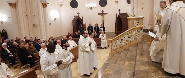 Admissió a ordres sagrats a Tarragona