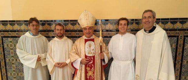 Admissió a ordes a Tortosa
