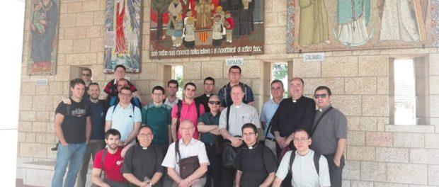 Pelegrinatge a Terra Santa dels seminaristes de Catalunya